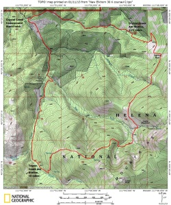 HURL Elkhorn 23K Course Map