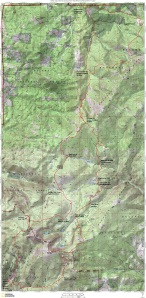 HURL Elkhorn 50 Mile Course Map