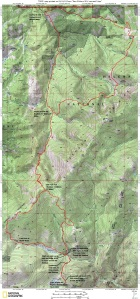 HURL Elkhorn 50K Course Map