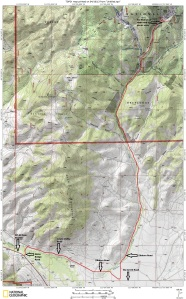 Map to Town of Elkhorn