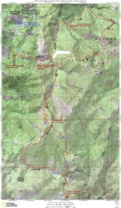 Willard Creek 50K Map